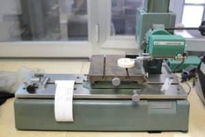 prove di laboratorio su tenute rotanti